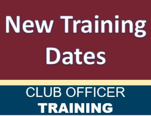 Register Now – Announcing 5 New Club Officer Training Dates (August)