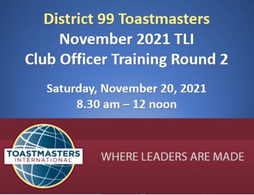 November TLI – Officer Training Round 2 (2021-22)